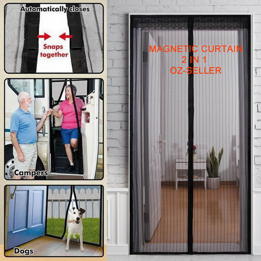Magnetic Fly Screen Door Curtain Australia Curtain