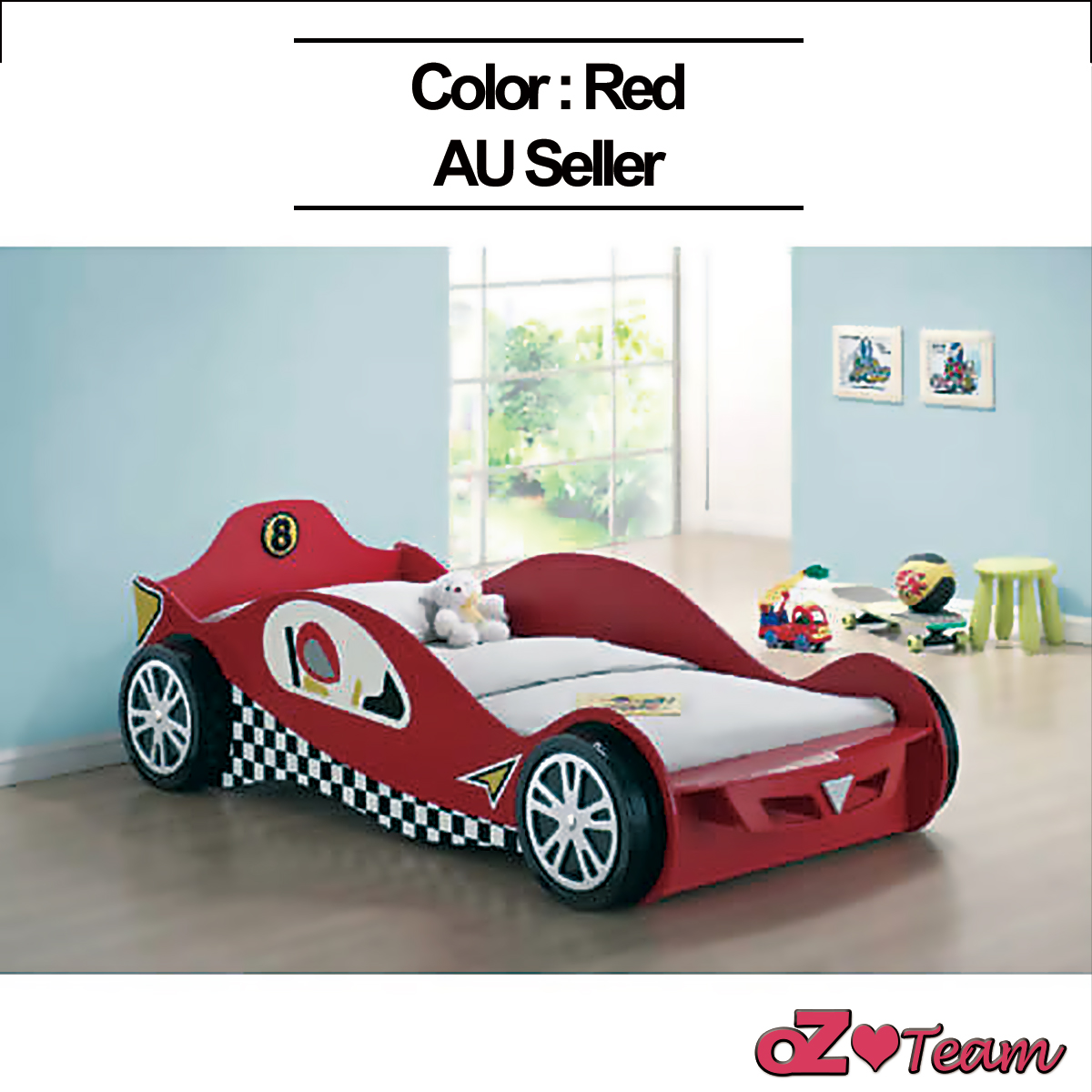 car beds for kids racing car bed single size children bedroom furniture 10508